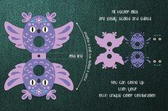 Owl Lollipop Holder template SVG Product Image 2