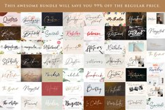 Calligraphy Font Bundle| 45 Fonts Collections Product Image 2