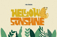The Strattos - A Playful Font Product Image 5
