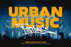 Urban Starblues - Font Duo Product Image 2