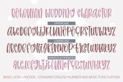 Bohemian Wedding- An informal handwritten font Product Image 2