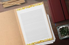 Yellow Lined and Unlined Journaling Papers Product Image 2