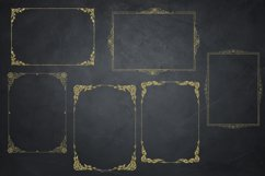 Gold Glitter Frames, Photo Effects Product Image 2