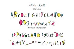 Minime color font Product Image 2
