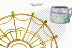 Watercolor Boho Clipart - PNG Files Product Image 5