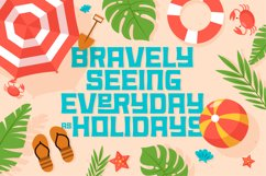 Summer Holiday Font Product Image 5
