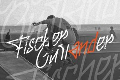 Fingertips - A Graffiti Font Product Image 5
