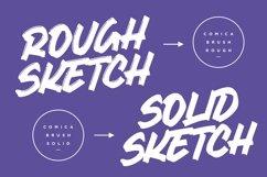 Comica Brush Display font Product Image 3