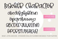 Teacher- A Cute handwritten font Product Image 2