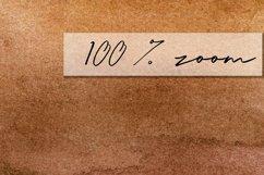 Brown Watercolor digital paper Product Image 3
