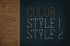 Arowen - Textured Rough Fonts Product Image 4