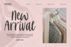 Pink Marbles Font Product Image 4