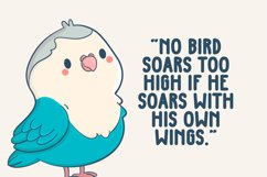 Blue Bird - Cute Display Font Product Image 4