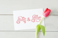 Monogram Lovely Font Product Image 5