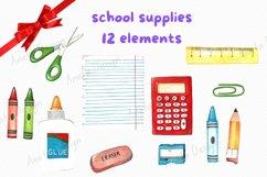 Back to school clip art, School clip art, Education clip art Product Image 2
