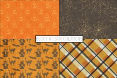 Happy Halloween Digital Papers and Patterns Product Image 3