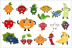 Fruits and Vegetables Characters Product Image 1
