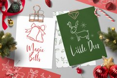 Christmas Doodle Font Product Image 4
