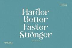 Shandora a Modern & Classy Serif Font Product Image 2