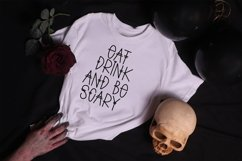 Web Font Spooky Scary - A Quirky Handlettered Font Product Image 2
