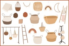 Abstract Bohemian Home Decor clipart Product Image 2