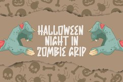 Zombie Sadly - Halloween Font Product Image 2