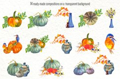 Fall Clip Art, Fall Graphics Set, Thanksgiving Clip Art Product Image 4