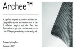 Archee Product Image 2