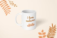 Autumn moments | Cute font Product Image 4