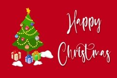 Web Font Celebrate - Christmas Calligraphy Font Product Image 6