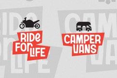 Transportation Font Product Image 4
