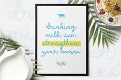 Milk Favorites Font Product Image 2