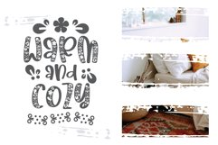 Fall Decoration - A quirky family font Product Image 2
