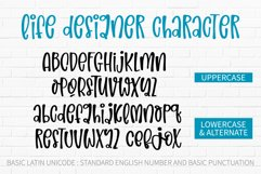 Life Designer-A silly and relaxing font Product Image 2