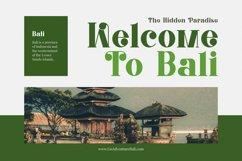 Balinestle Font Product Image 3