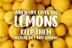 Lemon Tea Product Image 2