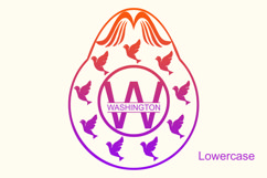 Dove Egg Monogram Product Image 3