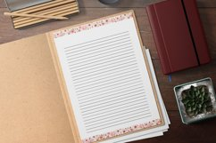 Pink Lined and Unlined Journaling Papers Product Image 2