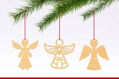 Christmas Ornaments Vol.2 - 120 Laser Cut Files Bundle Product Image 2
