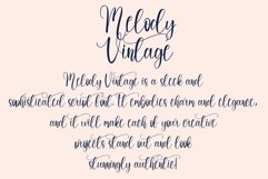 Melody Vintage | handwritten font Product Image 2