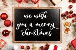 Pretty Christmas - Cute Typeface Font Product Image 6