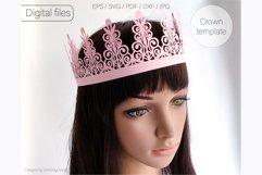Birthday crown svg cricut Tiara svg Princess crown svg Product Image 5