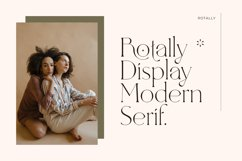 Rotally - Modern Serif Typeface Product Image 2