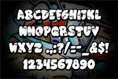 superbomb graffiti display font Product Image 2