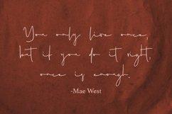 Mistress - a Handwritten Font