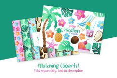 Vacation Digital Papers Product Image 3
