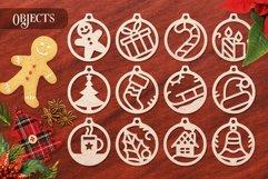 Christmas Ornaments Vol.1 - 120 Laser Cut Files Bundle Product Image 2