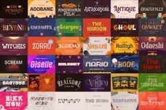 The Best Halloween Font Bundle Product Image 2