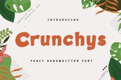 Crunchys - Fancy Handwritien Font Product Image 1
