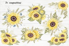 """Frames and Bouquets """"Sunflowers"""" Product Image 2"""